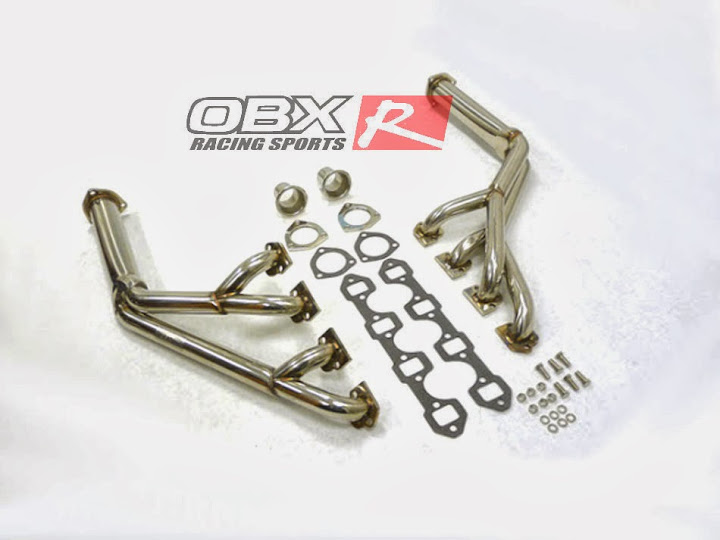 OBX Exhaust Header 64 65 66 67 68 69 70 Mustang 260 289 302 Engine SB Tri Y 4 1