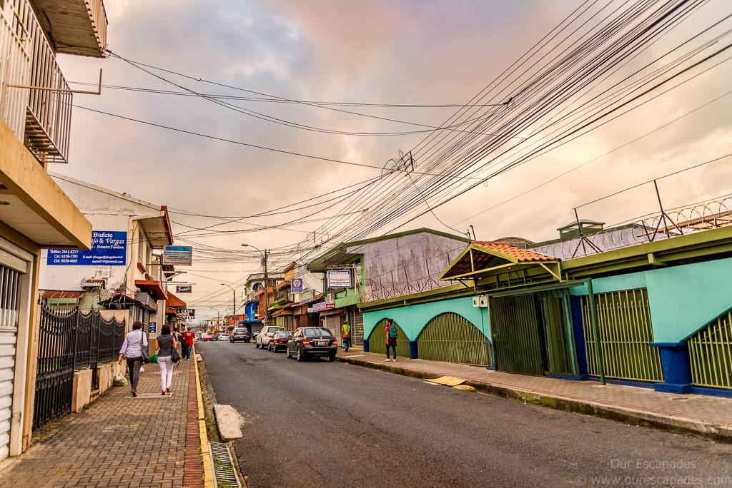 Streets of Alajuela