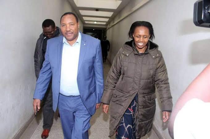 Baba yao from Milimani court heading to Kikuyu. PHOTO   RMS