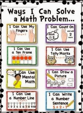 Mrs. Hackett's 1st Grade: Problem Solving Strategies for ...