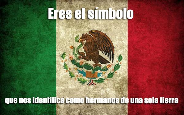 Frases de la bandera mexicana
