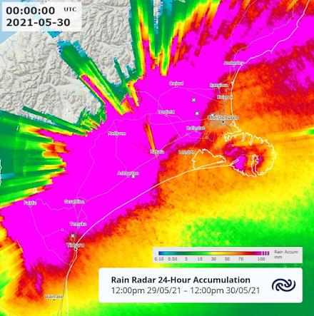 Νέα Ζηλανδία : Καταρρακτώδεις βροχές μπορεί να αναγκάσουν χιλιάδες πολίτες να εγκαταλείψουν τα σπίτια τους στην επαρχία Καντέρμπουρι