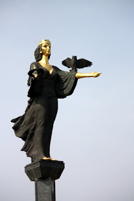 Statue of Saint Sofia in Sofia Bulgaria