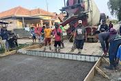 Warga Masyarakat Desa Tanjung Tiga Merasa Senang Dengan Dibangun nya Penghubung Jalan Tanjung Tiga Ciasem Hilir