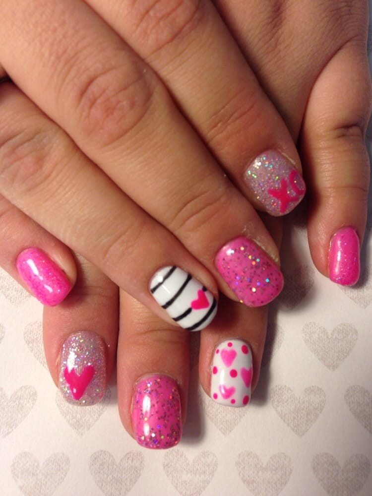 valentines nail art top 100 lovely ideas to s day nails 31578