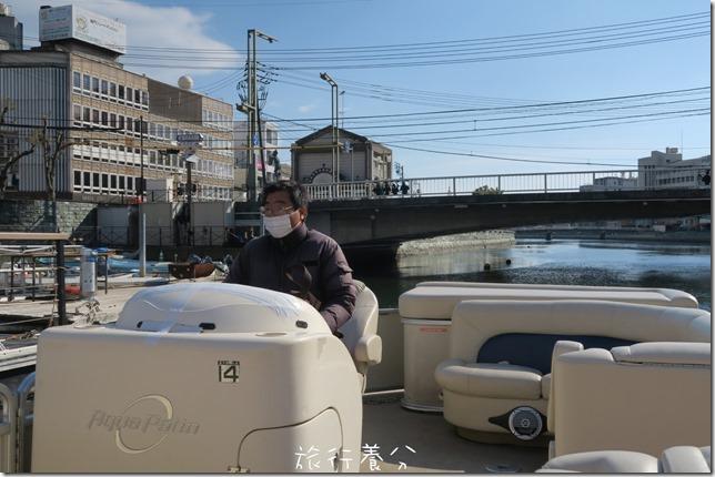 四國德島 葫蘆島周遊船 新町川水際公園 (9)