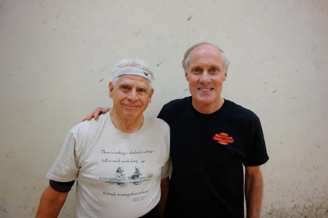 Men 70+ Singles: Bob Kreitler with Walter Fraze, Winner