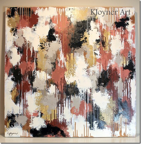 Abstract Painting KJoyner Art
