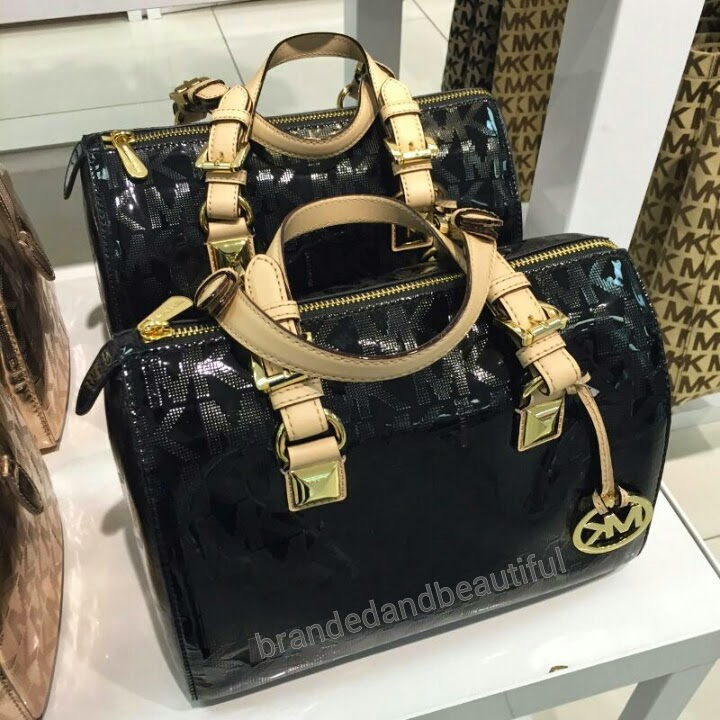 e73eb6f7b4e4 ... ebay michael kors grayson medium satchel b65fa 56208 buy ...