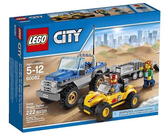 Lego 60082 Đồ chơi lắp ráp xe kéo địa hình