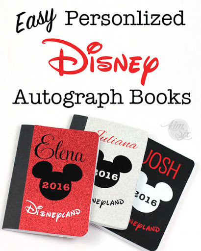picture about Printable Disney Autograph Book called Simple Do it yourself Custom-made Disney Autograph Textbooks - The Kim 6 Maintenance
