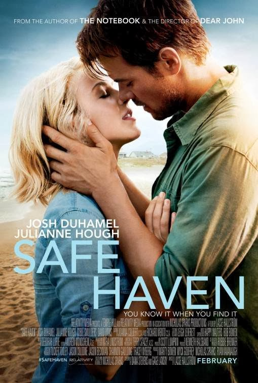Poster Of English Movie Safe Haven (2013) Free Download Full New Hollywood Movie Watch Online At Alldownloads4u.Com
