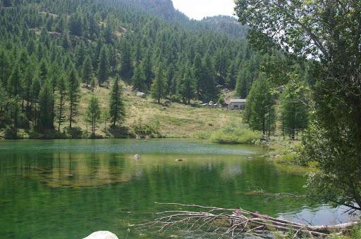 Le lac de la Minière