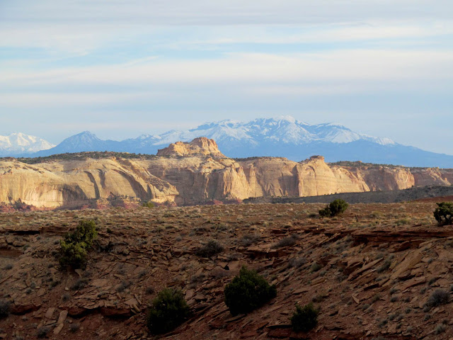 San Rafael Reef and Henry Mountains