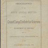 1896 Grand Camp Confederate Veterans
