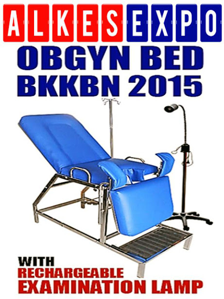 OBGYN BED BKKBN 2015 | ALKES EXPO JAKARTA