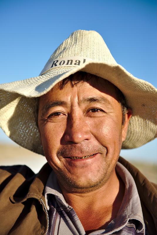 Uzbek road workers, as friendly as ever.