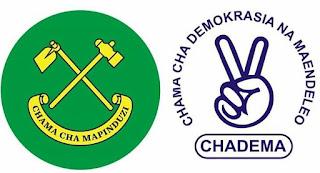 CCM YAVUNA MADIWANI WAWILI NA WANACHAMA 20 TOKA CHADEMA