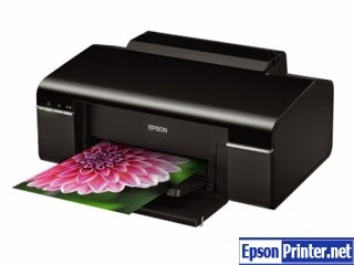 How to reset Epson T25 printer