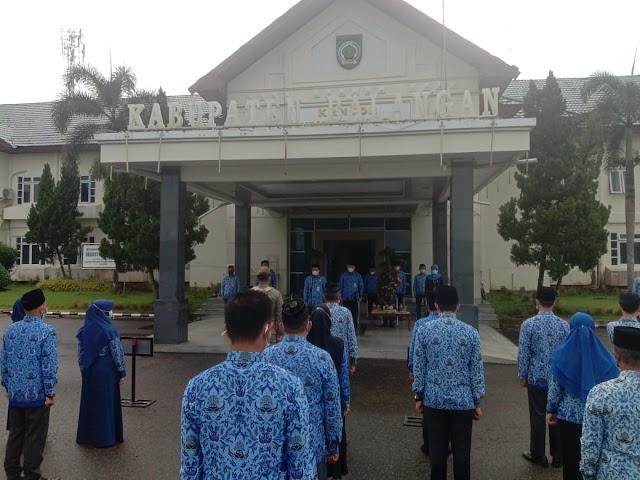 Bupati Abdul Hadi Pimpin Upacara Peringatan Hari Kesaktian Pancasila di Balangan