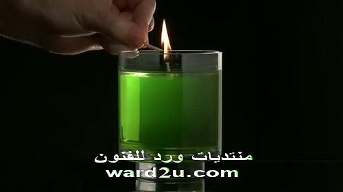 اصنع بنفسك بالمنزل شموع بدون شمع