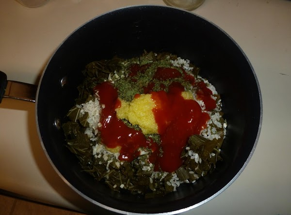 Place all ingredients in a pot, and stir well to distribute the herbs, add...