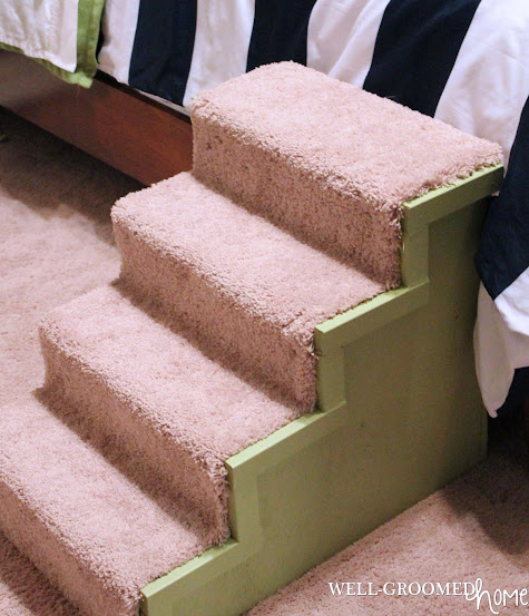 master bedroom pet steps