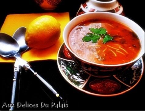recette de la chorba, la soupe algérienne