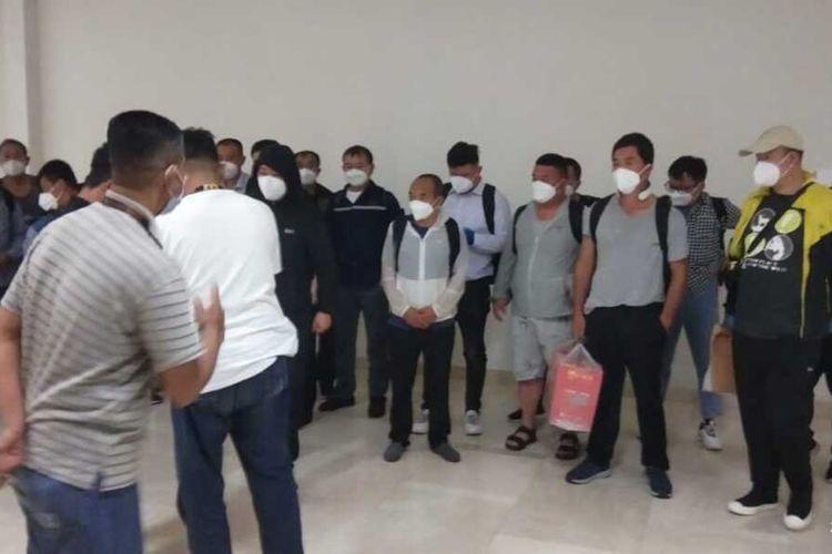 20 TKA China Masuk Sulsel Saat PPKM Darurat, Imigrasi Mengaku Tidak Tahu