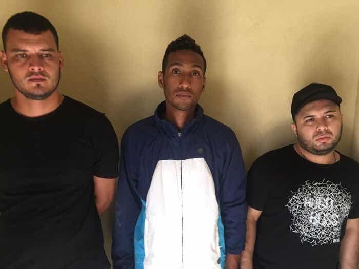 Apresan cuatro colombianos acusados de asaltar una casa de cambio en San Francisco
