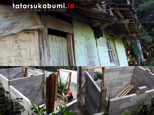 Dinsos Kabupaten Sukabumi Realisasikan Janjinya, Rehab Rutilahu Mak Khomsiyah