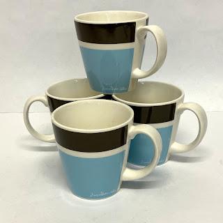 Jonathan Adler Palm Beach Basics Set 4 Cups