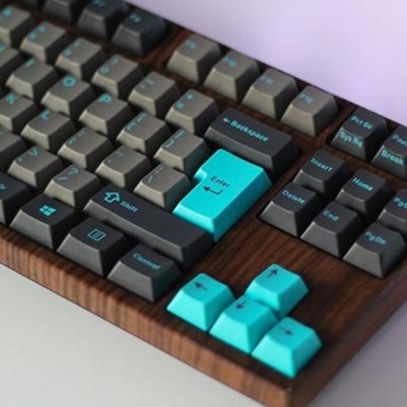 Sehen Sie sich nur dieses mechanische Keyboard an