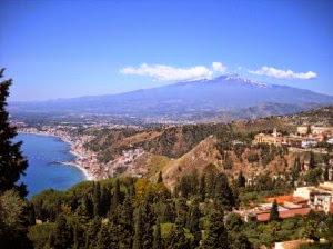 Знаменитый европейский вулкан Этна