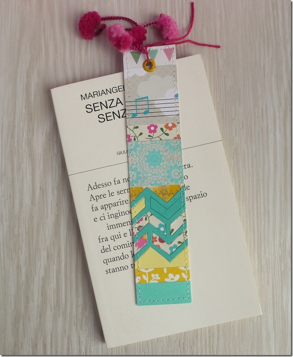 Anna Draicchio - sizzix big shot - notes bookmark (3)
