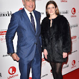 OIC - ENTSIMAGES.COM - Dermot Murnaghan and daughter Alice at the  Britain's Next Top Model - UK TV premiere airing tonight at 9pm on Lifetime in London 14th January 2016 Photo Mobis Photos/OIC 0203 174 1069