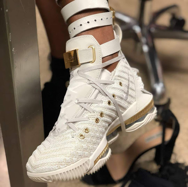 LeBron James Unveils Harlems Fashion Row Nike LeBron XVI