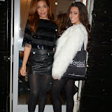 WWW.ENTSIMAGES.COM -    Stephanie Nala and Pascal Craymer   at         Perfect Eyelashes - launch event at Perfect Eyelashes, 48 Blythe Road, London December 4th 2014Beauty brand hosts celebrity event to launch collaboration with KatOsu and Land of Makeup.                                              Photo Mobis Photos/OIC 0203 174 1069