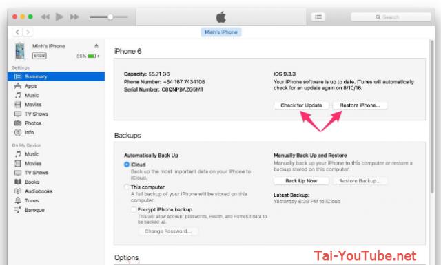 Hướng dẫn khôi phục lại cài đặt gốc cho điện thoại iPhone, iPad + Hình 3