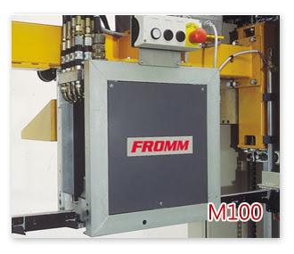 全自動鋼帶打包機頭M100