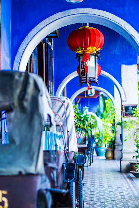 Penang Cheong Fatt Tze Mansion (Blue Mansion) rickshaw5