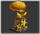 double mastery statue