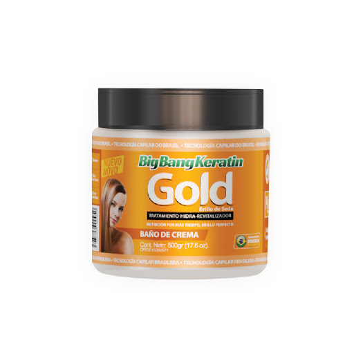 baño de crema bigbangkeratin gold 500gr