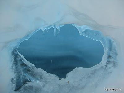 ледяной фонтан зюраткуль