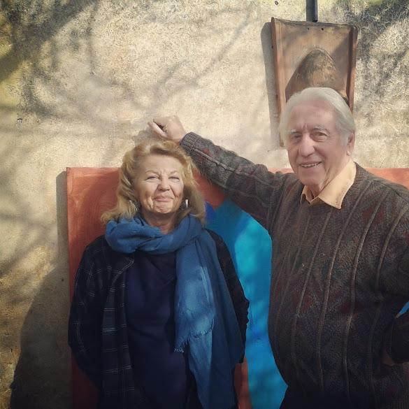Angela and Graham Chidgey at Il Granaio