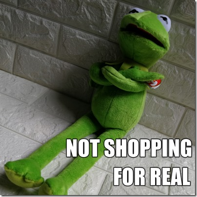 Kermit Shopping Memes Not Shopping