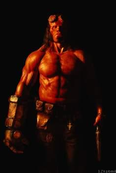 First look at David Harbour as Hellboy