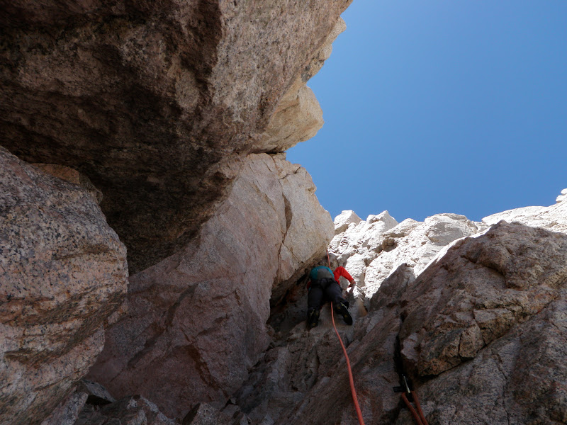 Mount Whitney • East Face, Pitch 8
