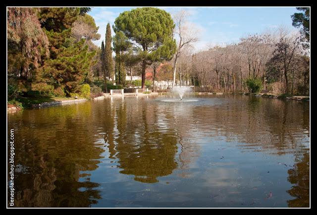 Lago Quinta de los Molinos