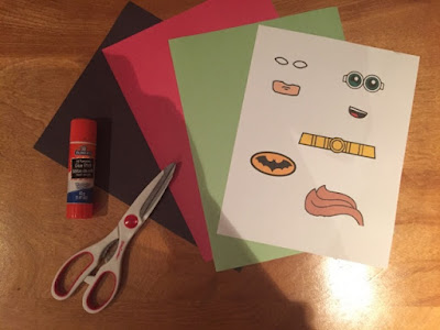 Lego Batman printable activities